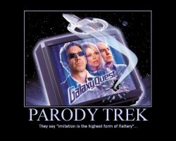 Parody Trek --- They say 'imitation is the highest form of flattery'...