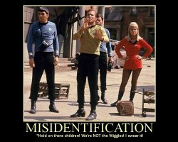 Misidentification --- 'Hold on there children! We're NOT the Wiggles! I swear it!