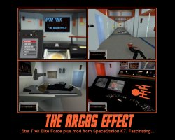 The Argas Effect --- Star Trek Elite Force plus mod from Space Station K7. Fascinating...