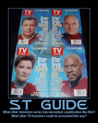 ST Guide --- What other television series has warranted a publication like this? What other TV franchise could be presented this way?
