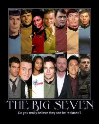 The Big Seven --- Do you really believe they can be replaced?